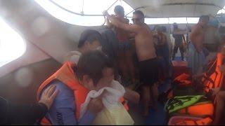 BOAT CRASH STRANDED IN THE OCEAN *VOMIT ALERT*    #ThailandTuesdays Ep. 6