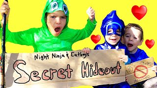 Download lagu PJ Masks SECRET CLUBHOUSE Night Ninja & Catboy ONLY! BFF Best Friends Full Episodes