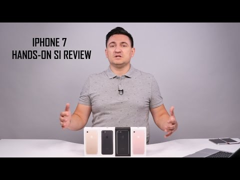 Apple iPhone 7 - Unboxing în 4 culori și review