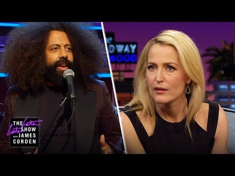 Reggie Watts' XFiles Question for Gillian Anderson