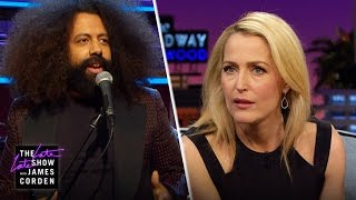 Reggie Watts' X-Files Question for Gillian Anderson