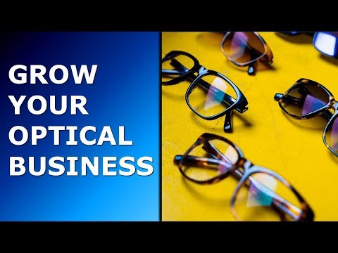 Grow your optical business with optical software