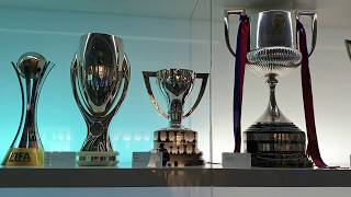 FC Barcelona Museum and the trophies part 1