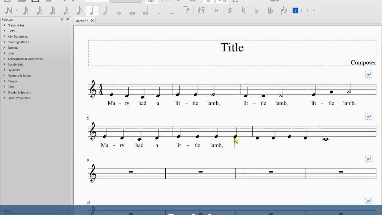 Tutorials – Mastering MuseScore Online