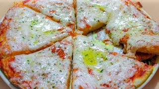 Пицца на сковороде за 5 минут + выпечка. Необычный способ приготовления.
