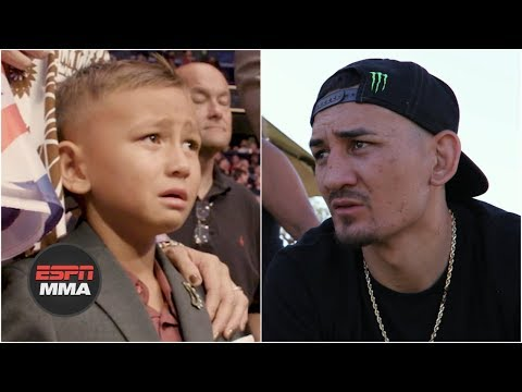 Max Holloway's loss to Dustin Poirier had big impact on his son | ESPN MMA