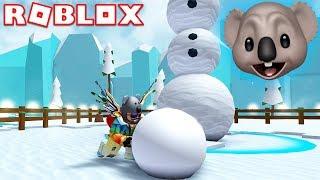 IL MIO NUOVO GIOCO SIMULATORE PREFERITO! | Simulatore di ROBLOX pupazzo di neve