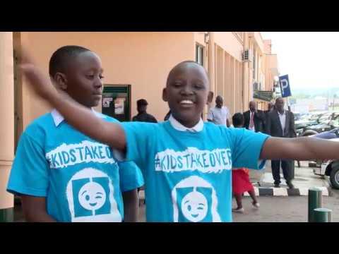 World Children's Day 2017: #KidsTakeOver the media in Uganda