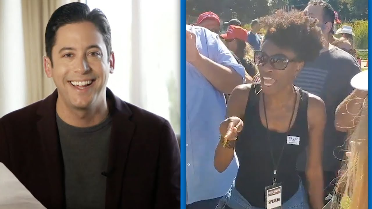 EPIC! Black Woman Destroys White Liberal In Beverly Hills