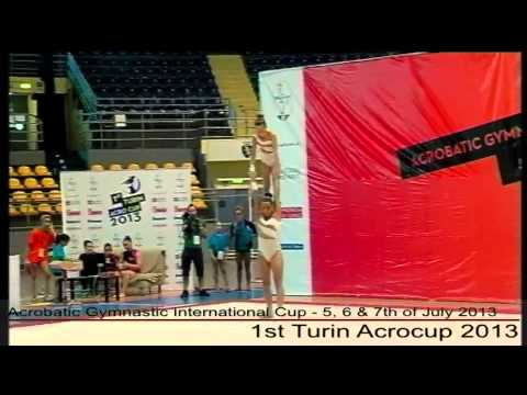 1st Turin Acrocup - Acrobatic Gymnastic International Cup - Day 2 - part 10