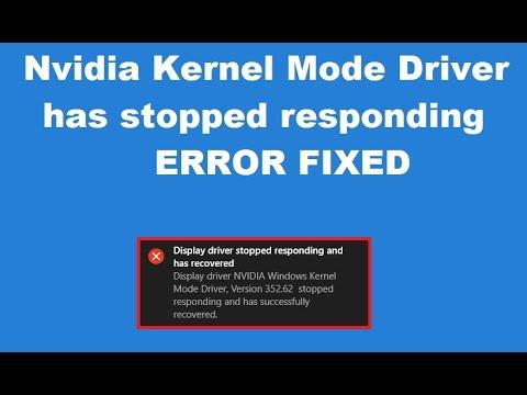 nvidia windows kernel mode driver version 185.93
