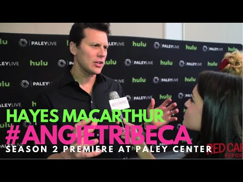 Hayes MacArthur at the World Premiere of