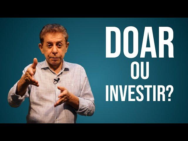 Doar é diferente de investir para dominar a máquina