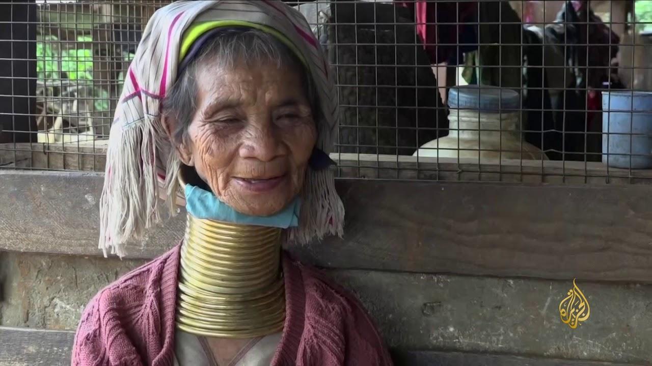 الجزيرة:هذا الصباح-الرقبة الطويلة من علامات الجمال المندثرة بميانمار