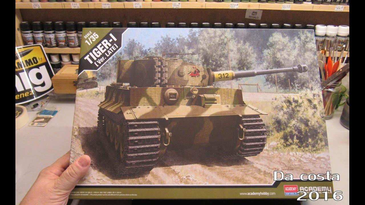 Academy 1//35 Pz.Kpfw.VI Tiger I Late Version # 13314
