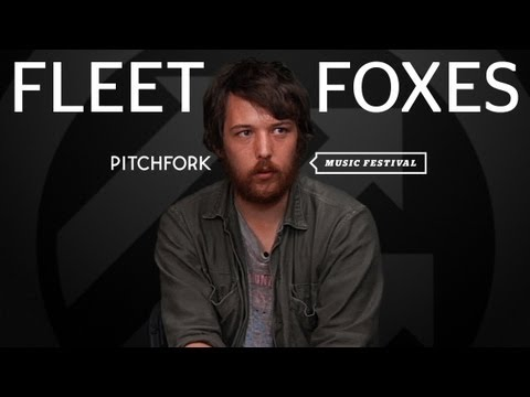 Fleet Foxes - Interview - Pitchfork Music Festival 2011