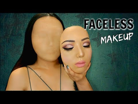 Faceless Girl Makeup Tutorial !!!