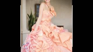 デルで女優の香里奈のウェディングドレスをまとめてみました。 着た女性...