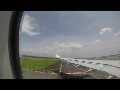 Sydney to Manila flight (PAL Economy Class) A340-300