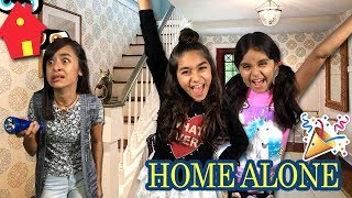 Home Alone - No Parents - Funny Comedy Skit // GEM Sisters