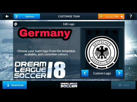 How To Import Germany Logo and Kits In Dream League Soccer 2018