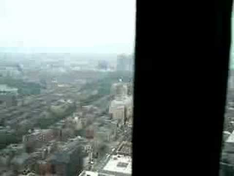 Ariel view of boston from the prudential tower