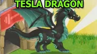 How To Breed TESLA DRAGON in Dragon City and Attacks Review