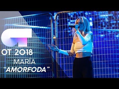 """AMORFODA"" - MARÍA | GALA 9 | OT 2018"