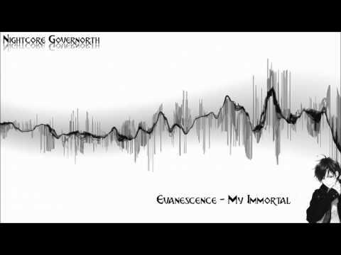 ♥♫Evanescence -My Immortal♫♥ Nightcore �】 - 1 hour