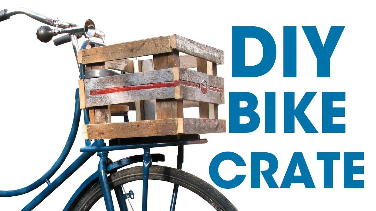 Diy Bike Crate Youtube