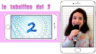 La tabellina del due - tabellina del 2 - canzoni per bambini - Sofia Del Baldo