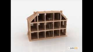 Free Dollhouse Plans Dxf - WoodWorking Projects & Plans