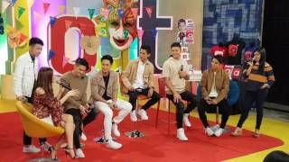 BoybandPH Russell Reyes teased that he likes Janella Salvador #ASAPFiestacular