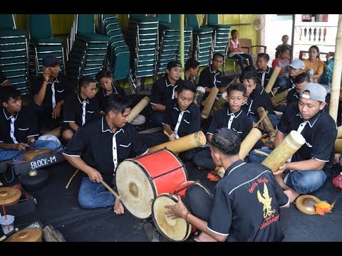 Musik Patrol Thehthek Gintangan Satria Muda Blok M Banyuwangi 2018 Festival Bambu