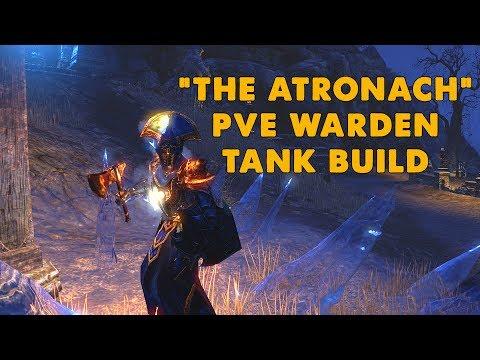 "ESO - ""The Atronach"" Warden PVE Tank Build - (Morrowind)"