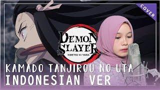 Cover images 【Rainych】 Kamado Tanjirou no Uta 『竈門炭治郎のうた』 Demon Slayer | Kimetsu no Yaiba EP 19 (Indonesian Cover)