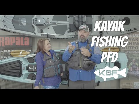 How To Use A Kayak Fishing PFD | NRS Shenook Women's Life Vest