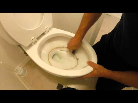 How To Remove Stubborn Toilet Buildup (calcium deposits)
