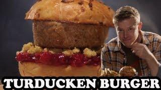 Turducken Burger - Burger Lab