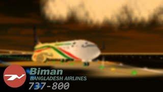 BIMAN Fluggesellschaften | 737-800 Rundflug (Roblox)