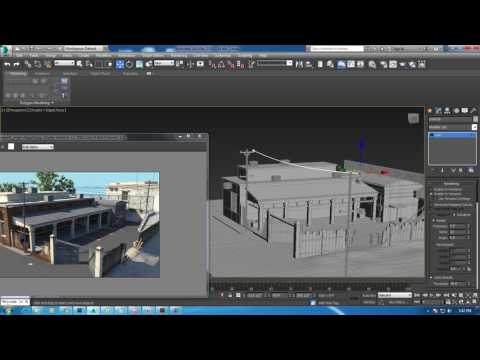 Tutorial on Modeling Texturing and lighting a 3d enviroment in 3dsmax. (Part 5)