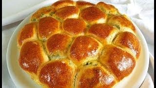 Focaccia Altissima E Soffice Ripiena Di Cicoria Ed Emmental Di Rita Chef Morbida E Gustosa.