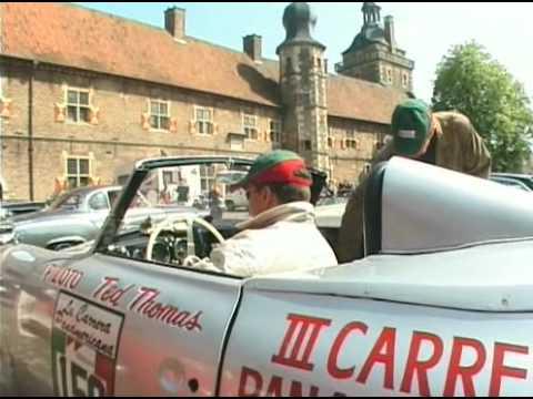 Classic car rallye in germany - Tour de Rü 2005