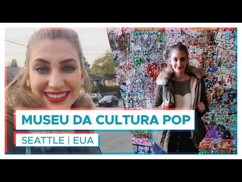 Museu da Cultura Pop em SEATTLE! | EUA | Vlog Carol Moreira
