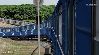 Metrostroi: Одно из самых лучших видео!:) Камшотный осмотр состава и атмосферный заезд в депо.:)