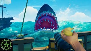 Fighting the Megalodon - Sea of Thieves: The Hungering Deep | Let
