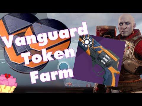 How I Farm For Vanguard Tokens During The Revelry | Destiny 2