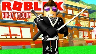 NINJA CHAMPION COMKEAN! -Roblox Ninja Tycoon English