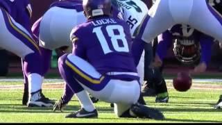 Blair Walsh Misses 27 Yard Field Goal To Win Game! Vikings Seahawks
