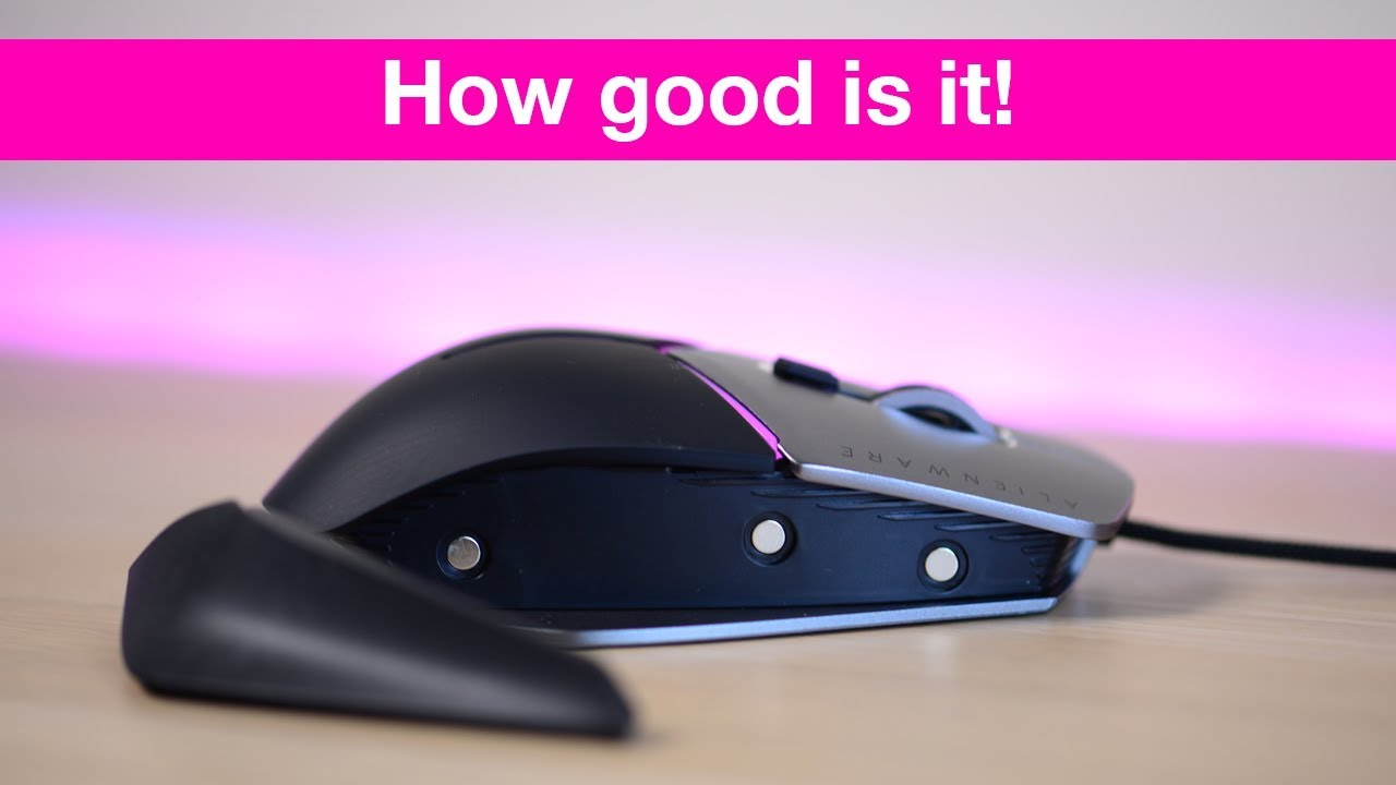 642e04a18fa Alienware Elite Gaming Mouse REVIEW Best gaming mouse? AW958 - YouTube